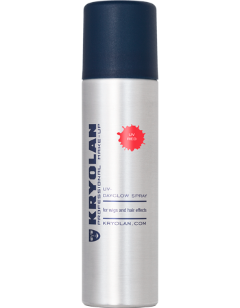 Kryolan UV hårspray, Röd