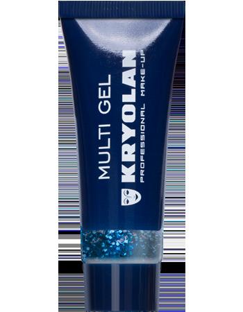 Kryolan Multigel glitter, Blå