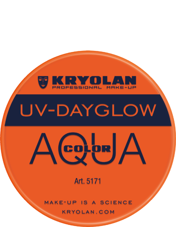 Kryolan Aqua liten UV orange
