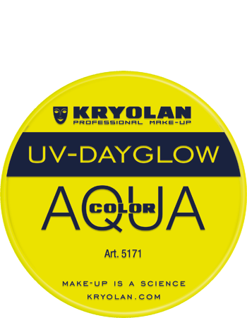 Kryolan Aqua liten UV gul