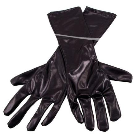 Handskar svart blank