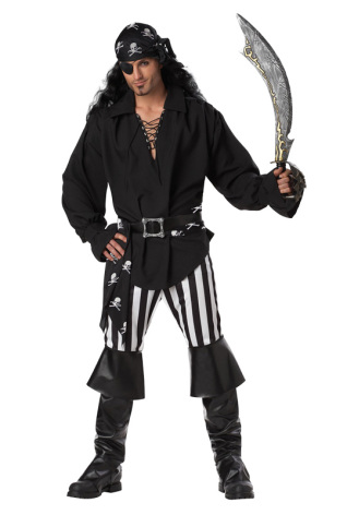 Piratdräkt, herr
