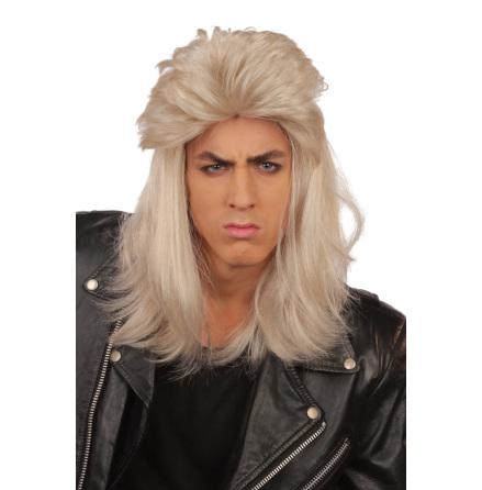 Peruk 80-tals blond herr