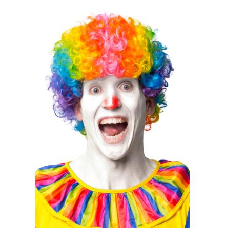 Clownperuk, vuxen