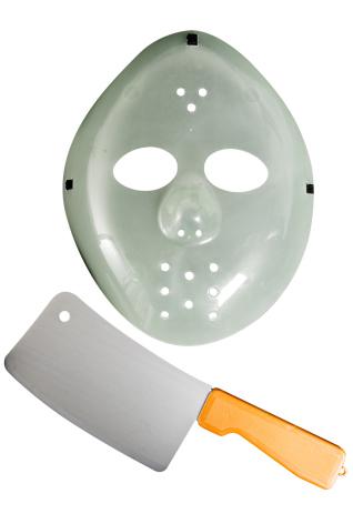 Hockeymask, självlysande