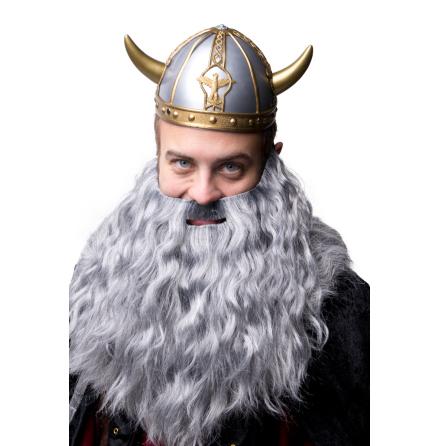 Vikingahjälm, små horn