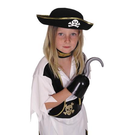 Piratkapten hatt barn