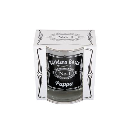 Whisky glas V B Pappa
