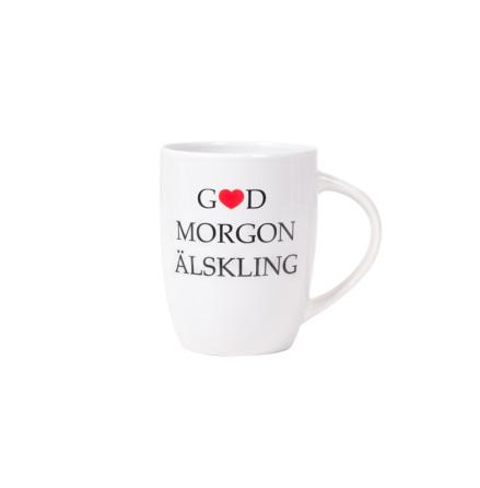 Mugg, god morgon älskling