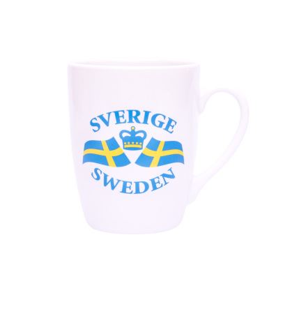 Mugg Svenska Flaggan