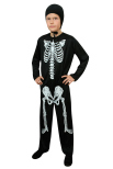 Skelettdräkt, barn