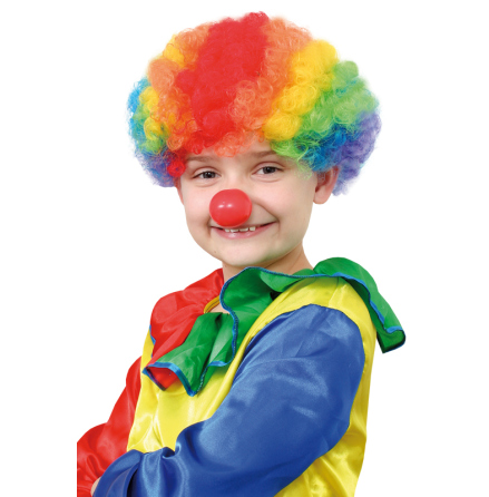 Barnperuk, clown