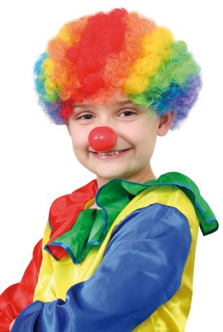 Clownperuk, barn