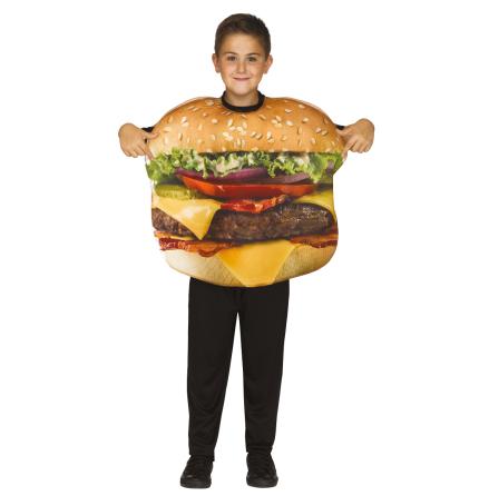 Hamburgerdräkt barn