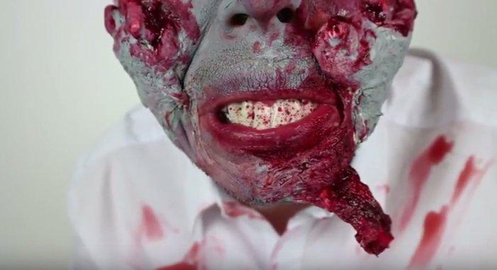 Zombiesminkning