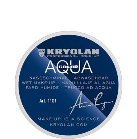 Kryolan Aqua liten 079 röd