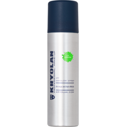 Kryolan UV hårspray, Grön