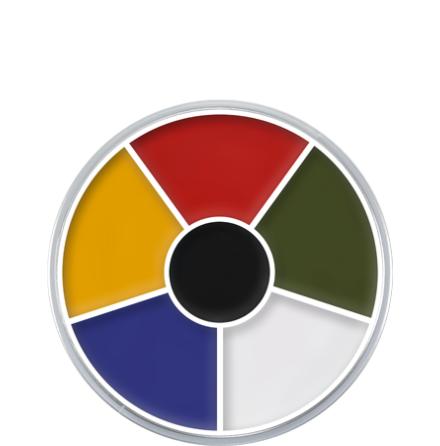 Kryolan Supra Multi Color palett 6-färg