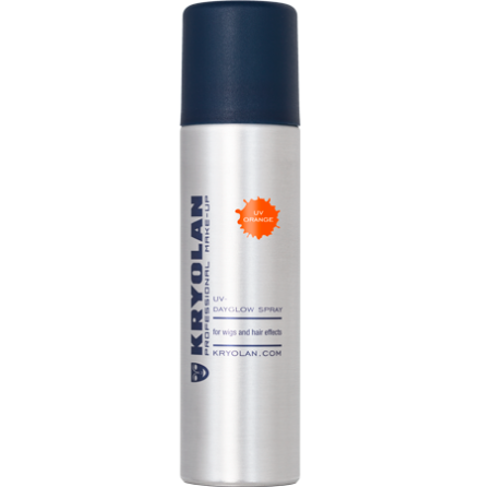 Kryolan UV hårspray, Orange