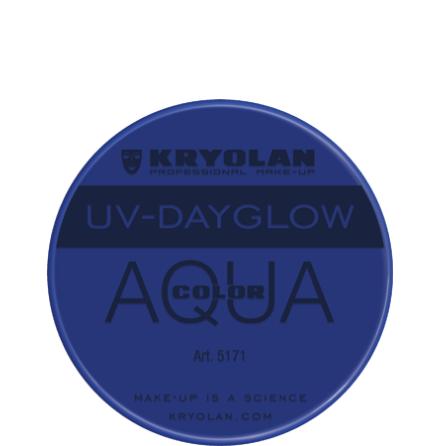 Kryolan Aqua liten UV blå