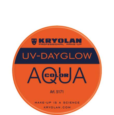 Kryolan Aqua liten UV orange