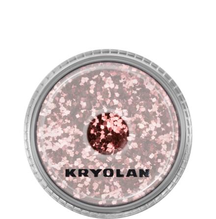 Kryolan Kroppsglitter, Rosé