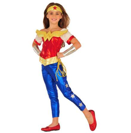 Barndräkt, Wonder woman