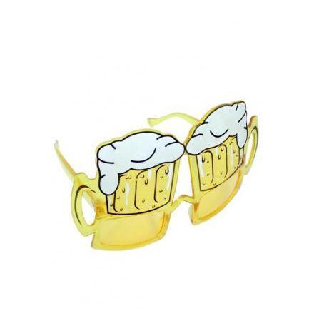 Solglasögon, öl