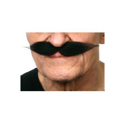 Mustasch Show svart