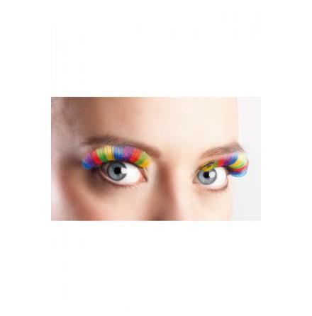 Ögonfransar, regnbåge