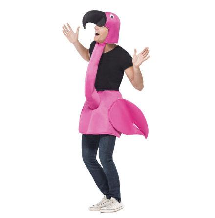 Dräkt, flamingo rosa