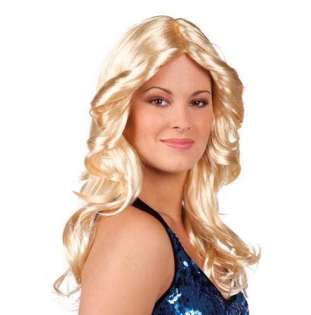 Peruk, 70-tal blond dam
