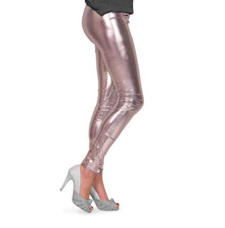 Leggings, silver metallic L/XL