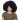 Afroperuk, svart