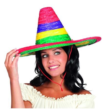 Sombrero, flerfärgad 49cm