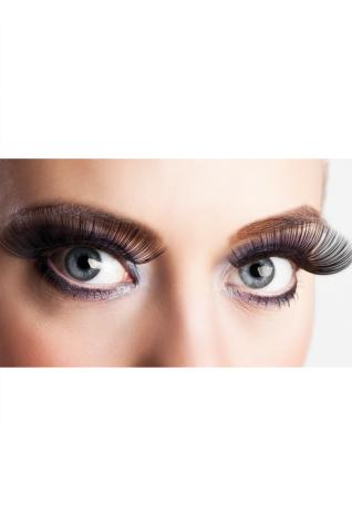 Ögonfransar, XL svart