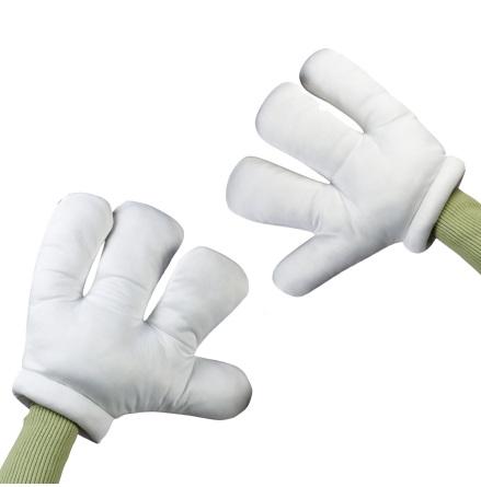 Handskar, tecknad figur