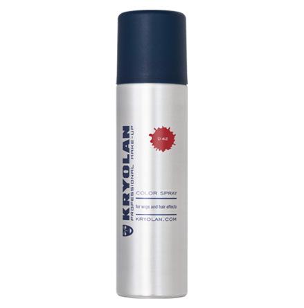 kryolan hårspray, röd
