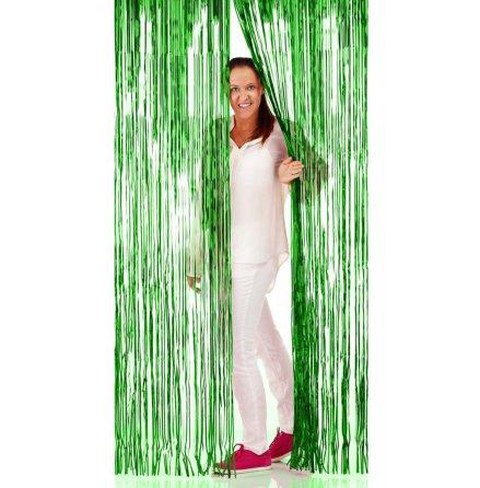 Glitterdraperi, grön