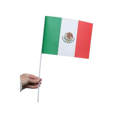 Pappersflagga, Mexico 27x20cm