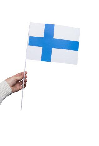 Pappersflagga, Finland 27x20cm