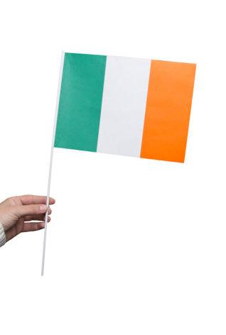 Pappersflagga, Irland 27x20cm