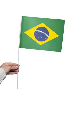 Pappersflagga, Brasilien 27x20cm