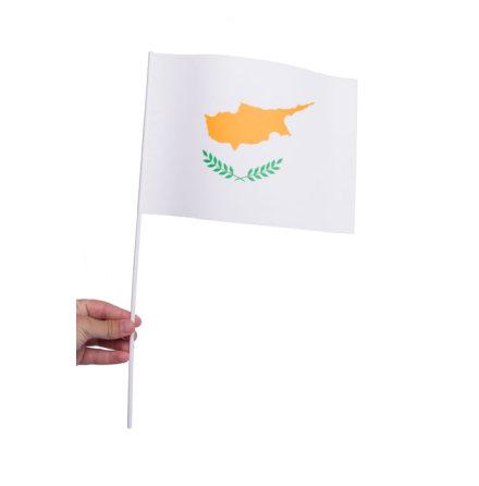 Pappersflagga, Cypern 27x20cm