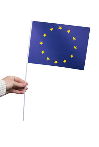 Pappersflagga, EU 27x20cm