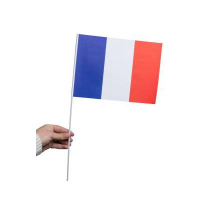 Pappersflagga, Frankrike 27x20cm