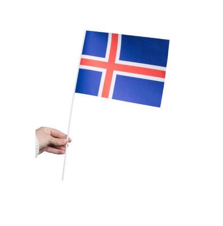 Pappersflagga, Island 27x20cm