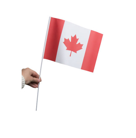 Pappersflagga, Kanada 27x20cm