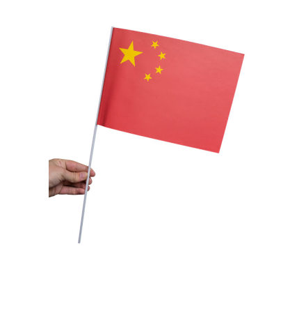 Pappersflagga, Kina 27x20cm