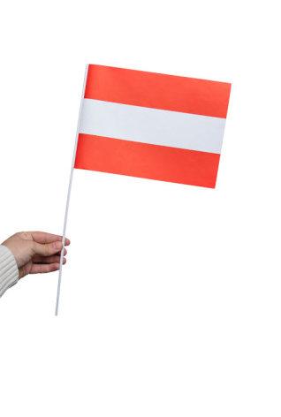 Pappersflagga, Österrike 27x20cm